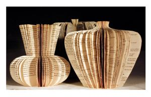 book sculptures by Juula
