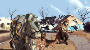 Fallout 4 Traveling by EnriqueNL