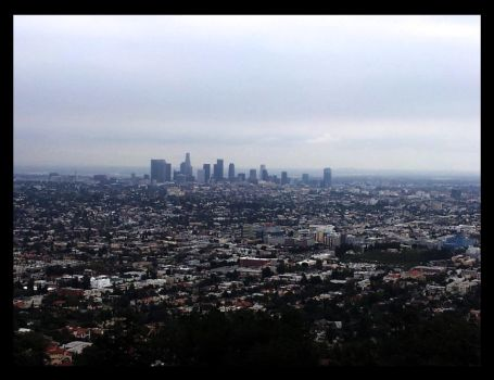 Downtown Los Angeles by dragonfyre