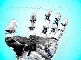 Cyber hand 2015 by 35-Elissandro