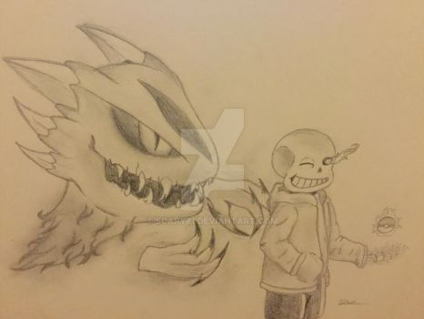 Trainer Sans wants to battle! by scary81