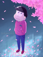 cherry blossoms by Sofiakkuma