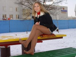Beautiful Hottie in the Cold 7 by drknyght6