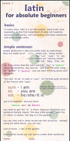 Latin for Absolute Beginners by wonderfulrachel