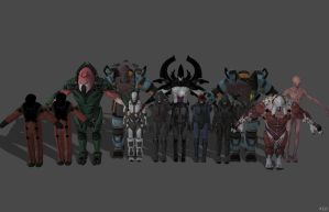 'Xcom 2' Pack 1 XPS ONLY!!! by lezisell