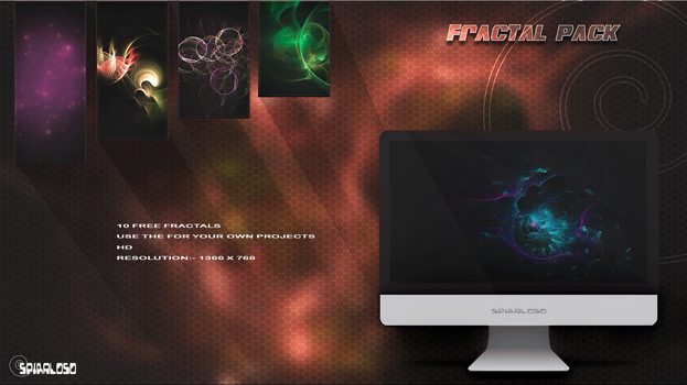 Free fractal pack (1) by spiraloso
