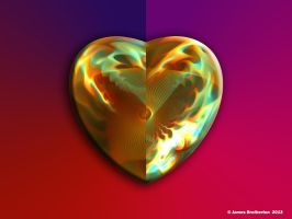 My Heart Burns For You by jim88bro