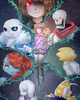 UNDERTALE by ScruffyPoop