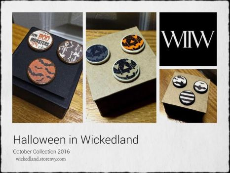 Halloween In Wickedland October Collection by wickedland