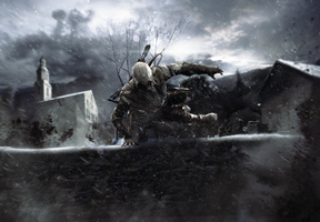 Assassin's Creed - Battle of Trenton by BB22Andy