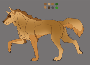 Desert Canine Adopt (OPEN) by Dawn2Nightfall