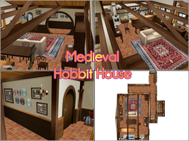 Medieval/Hobbit House by kaahgomedl