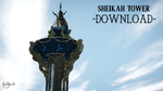 Sheikah Tower [MMD] DL by JuleHyrule