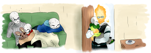 DTT: Napping Skeletons and a Caring Flame by Loumun-Versen