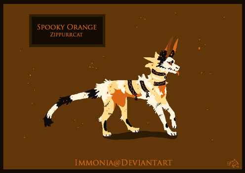 Zippurrcat: Spooky Orange [CLOSED] by Immonia