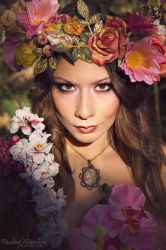 Lady Of The Forest (Portrait) by IreneAstral