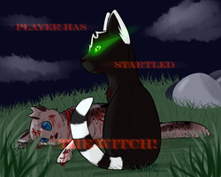 Player Startled the Witch! :REDO: by Spiritpie