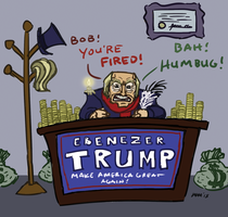 Ebenezer Trump by gaudog