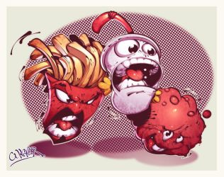 aqua teen by wagnerf