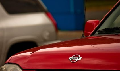 Red Nissan by ksouth