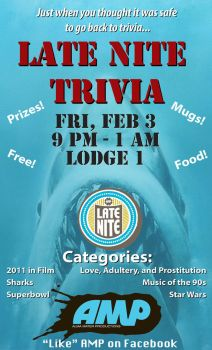 February 2012 Trivia - Flyer by tjjwelch