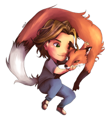 The guy and the fox by sadvi