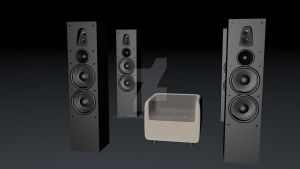 Speakers on by richpitchi