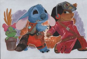 Lilo And Stitch Cosplay 2015 by RadPencils