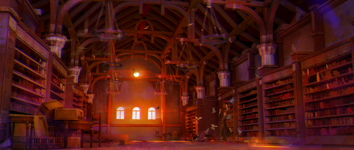 Library by irlethann