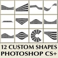 Photoshop Custom Shapes By Brushportal by Brushportal