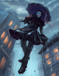 Walking on the rain by ElendichElipse