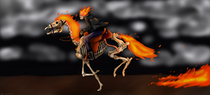 Ghost Rider .:Speedpaint:. by Frostdragon102