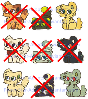 {3/9 OPEN!} 10 Point Cat Adopts by P4per-Star-Adopts