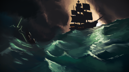 Stormy Seas by George-Eracleous