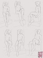 perspective pose - set 1 by mad-jove