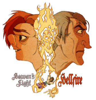 Heaven's Light and Hellfire - Colored by DuskChant