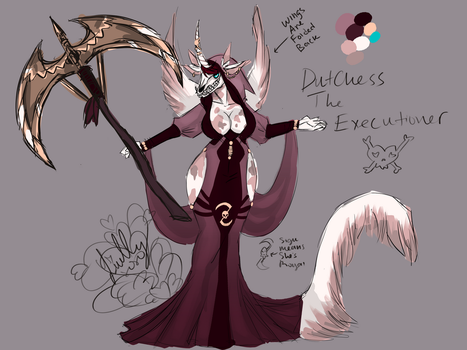 Duchess The Executioner ~new design by catthing