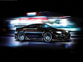 Nissan 300zx by blackdoggdesign