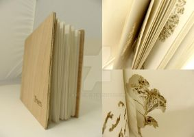 Trees, a laser cut book by daegfire