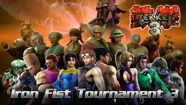 Tekken 3 - Iron Fist Tournament 3 Group Picture by Hyde209