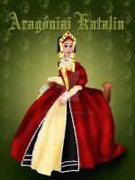 Catherine of Aragon by MathildeE