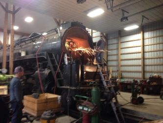 Reading and Northern 2102 Restoration by maxm2317