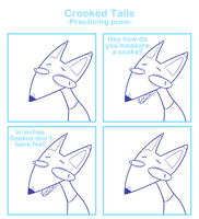 Crooked Tails -Practicing puns- by SmokyJack