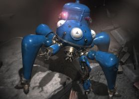Battle-Weary Tachikoma 2 by G3isha