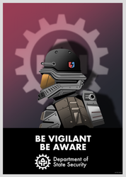 Be Vigilant, Be Aware by Imperial-Ascendance