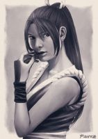 Mai Shiranui by zoeragez