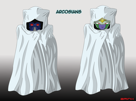 The Arcosian Unmasked by Brinx-dragonball