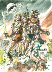Thundarr the Barbarian by deankotz