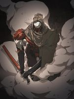 Cloak and smoke. by duster132