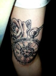 Pocket Watch Tattoo by AngryPIG